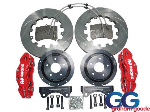 Focus RS MK2 Big Brake Kit Red 6 Pot 362mm GGR AP Racing GGF3015